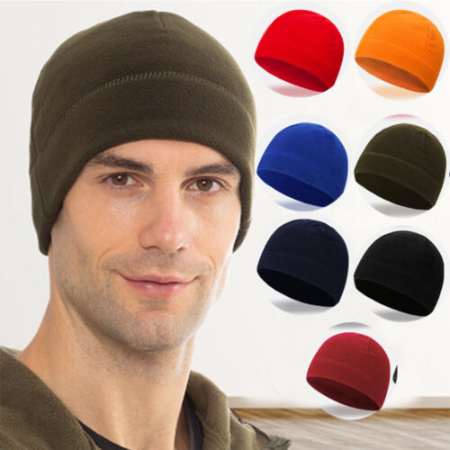 Fleece Hats Hiking Caps Military Tactical Cap Windproof  Skullcap Winter Warm