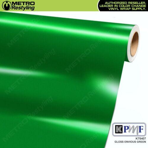 KPMF K75407 GLOSS ENVIOUS GREEN Vinyl Vehicle Car Wrap Decal Film Sheet Roll