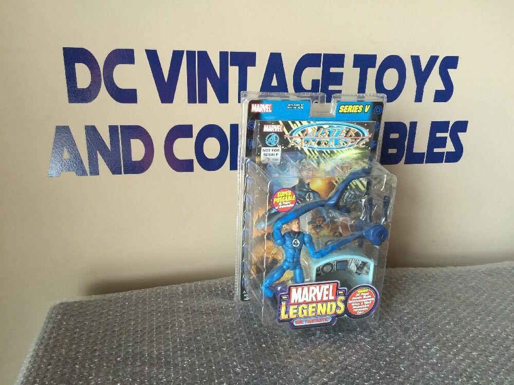 Marvel Legends Series 5 2003 Mr. Fantastic Action Figure Toy Figure