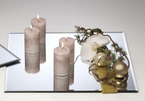 Spiegelplatte Deko Tischspiegel 40x40cm Glas quadratisch Sandra Rich
