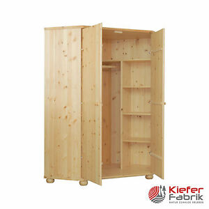 claudia kleiderschrank eckschrank 100 massiv bio kiefer naturholz ebay. Black Bedroom Furniture Sets. Home Design Ideas