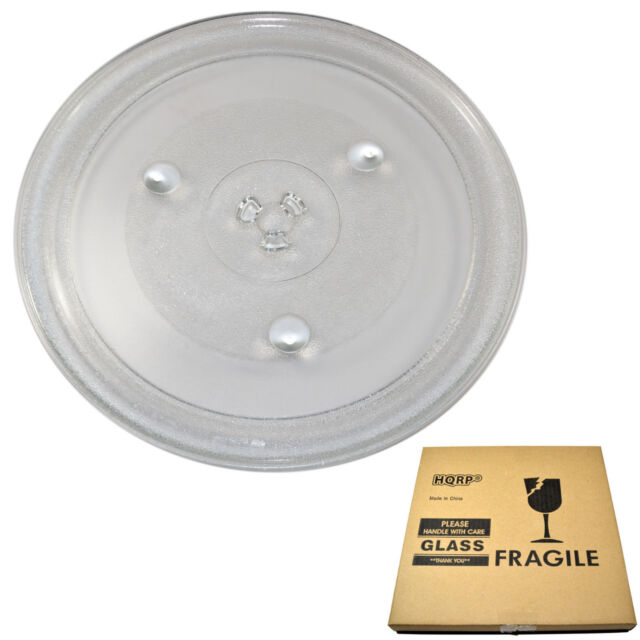 HQRP 12-3//8 inch 315mm Glass Turntable Tray for GE WB49X10227 Microwave Oven