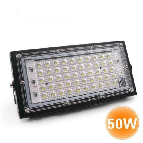 6500K LED Flood Light Outdoor 50W Waterproof Security Spotlight Garden-Lamp 220V