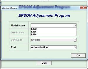 reset epson l382