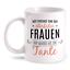 Gott erschuf Tante Tasse Spruch Geschenk Idee Geburtstag Familie Beste der Welt