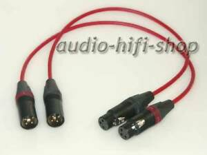 "XLR Kabel /""Sommercable/"" Goblin grau Neutrik Stecker XX Serie,Phono,HIFI"