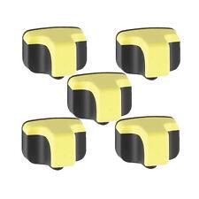 5 YELLOW Ink jet Cartridge for use on HP 02 Photosmart C5180 C6180 C6280 C7180