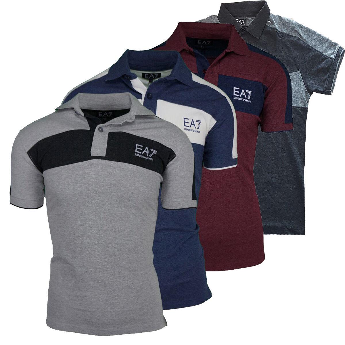 EA7 Emporio Armani Polo Shirt short Sleeve Cotton S M L XL XXL