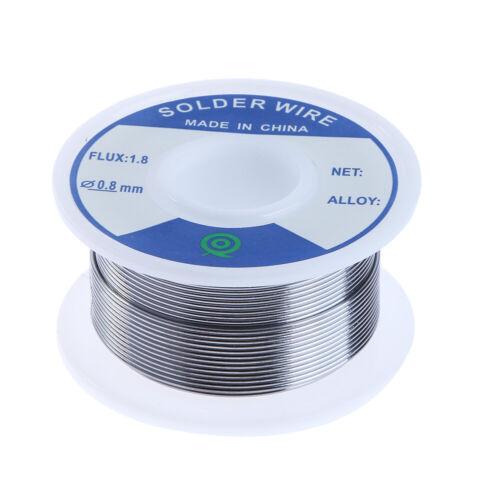 Bleifrei-Zinn Silberlot Draht Flux 1,8 3 /% Silber 0,8 mm Lautsprecher DIY M Neu