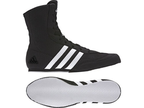 Adidas Box Hog 2 Black Boxing Boots Sizes 6-14uk  Adults Mens FREE POSTAGE UK