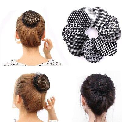Dutt Netz Haarnetz Bun Ballett Haar Frisurenhilfe Stoff Knotennetz Haarschmuck
