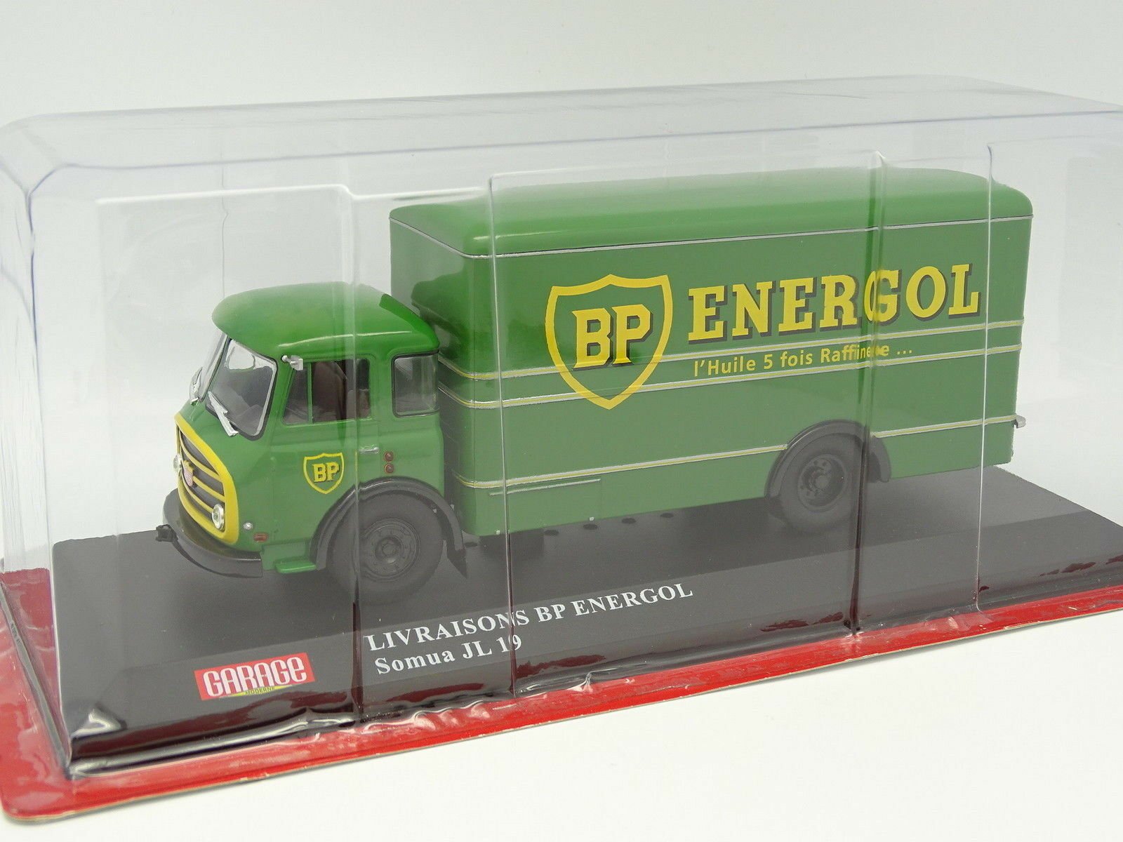 IXO modern garage press 1 43 - somua jl19 deliveries BP Energol
