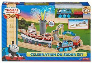 CELEBRATION ON SODOR SET Thomas Tank Engine Wooden Railway NEW IN BOX