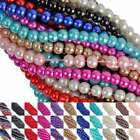 Wholesale New Glass Spacer Loose Beads For Jewelry Making DIY Necklace 4 6 8 mm