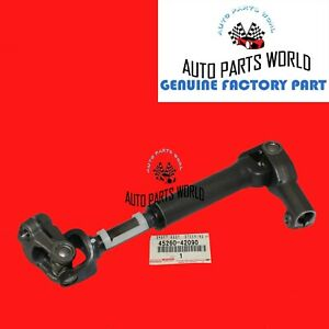 Genuine Toyota RAV4 06-12 Steering Intermediate Shaft 45260-42090 OEM