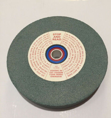 1-Wheel Colonial Abrasive Products 6 x 1 x 1-1//4 Grinding Wheel GC80-L5VS1