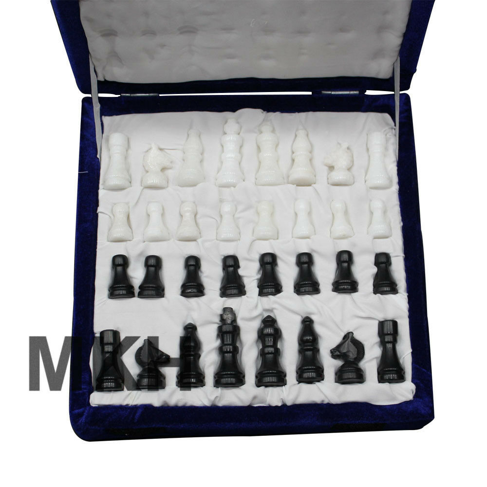 Christmas Special Offer Chess Board Marble Inlay Gemstones Coffee Table Table Table Vintage dd8a38