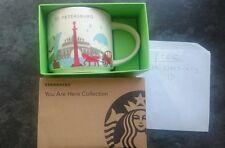 Saint-Petersburg Starbucks mug Jan 2017-collectable. Free UK delivery