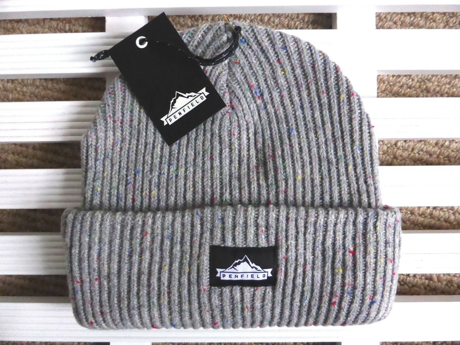 PENFIELD USA Chunky Grey Beanie  Hat - Super Comfy & Warm - One Size - Toque NEW  fitness retailer
