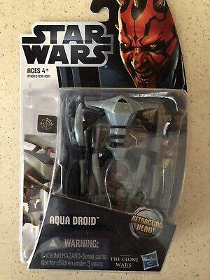 STAR WARS the clone wars AQUA BATTLE DROID tcw CW10