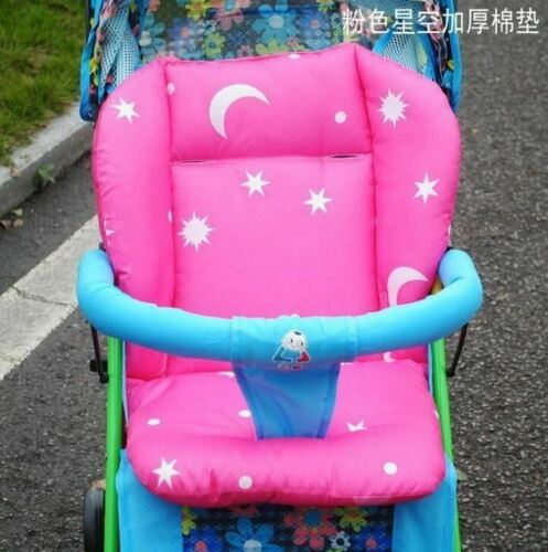 Baby Car Pad Thick Stroller Mat Breathable Seat Cushion Cotton General Cotton Th
