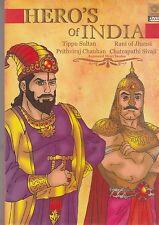 Hero's Of India -Tipu sultan/Rani Of Jhansi/sivaji/Prithviraj Chauhan  [Dvd]