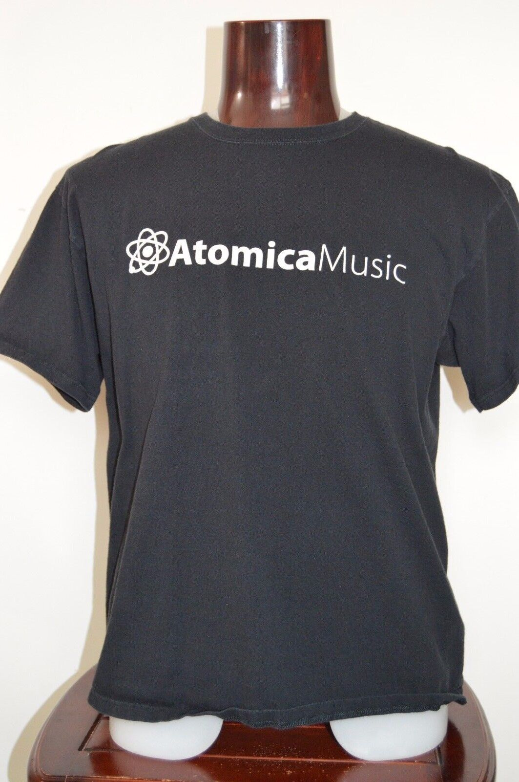 Atomica Music Graphic T Shirt XL Black Source For TV Fi
