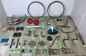 20-034-Kids-Bike-Bicycle-Parts-Lots-Vintage-60s-Schwinn-Stingray-Wald-Compatible