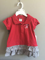 University Of Alabama 2 Piece Crimson Polo Dress And Bloomer Outfit