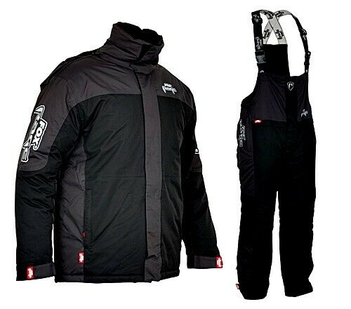 Fox Rage wintersuit nero grigio TG. XXXL