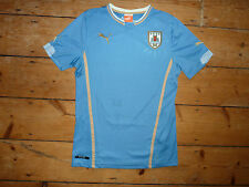 size:S  URUGUAY football SHIRT   SOCCER JERSEY 2013 Home shirt South America