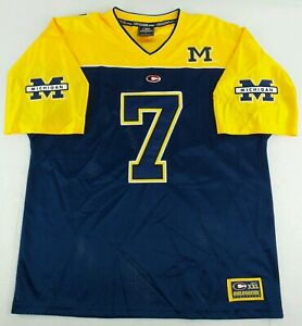 ddc5e3770 Image is loading Vintage-Colosseum-Athletics-NCAA-Michigan-Wolverines- Football-Jersey-