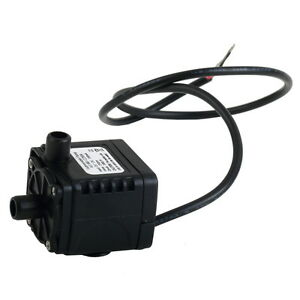 12V DC CPU Cooling CAR Brushless Water Oil Pump Waterproof Submersible OW