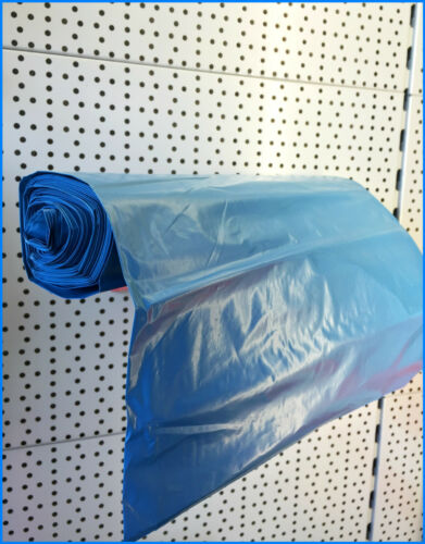 75x 150x 70my 300x Müllsack Müllbeutel Müllsäcke blau 120 Liter Typ 100 reißf