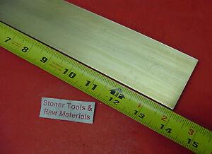 "1/4"" x 2"" C360 BRASS FLAT BAR 14"" long Solid .250"" Plate Mill Stock H02"