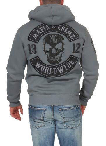 amp; Herren Maske Crime Sweatjacke Kapuzensweater Mafia 577 CqwH1dH