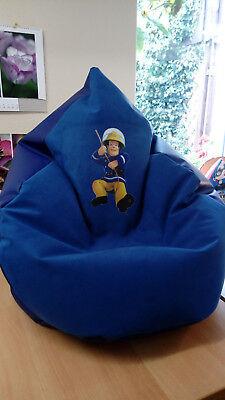 Swell Sitzsack Xl Von Lux Ca 340 L Feuerwehrmann Sam Soft Lederoptik In Blau Ebay Squirreltailoven Fun Painted Chair Ideas Images Squirreltailovenorg