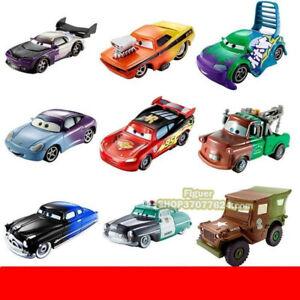 Original-Mattel-Disney-Pixar-Cars-Changers-Color-Rare-McQueen-Sally-Sheriff-Cars