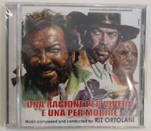 Una Ragione Per Vivere E Una Per Morire (Riz Ortolani) CD - Digitmovies - Nuovo