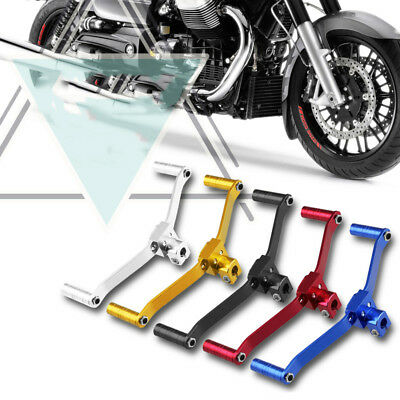 Red 2-Way Aluminum Motorcycle Gear Shift Lever Footrest Pedal Shifter