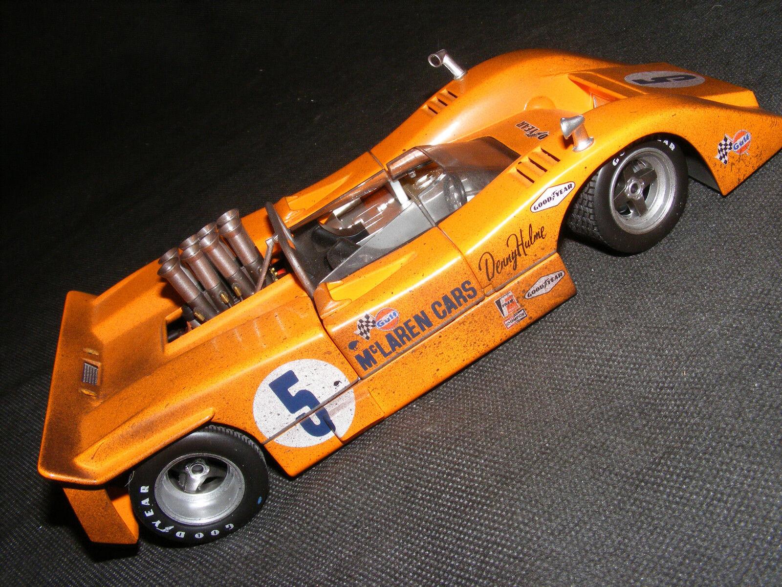 GMP McLaren M8A RARE course fini 1 18
