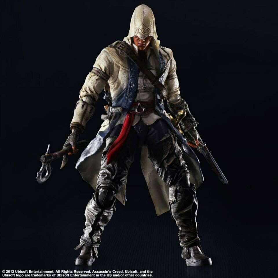 Assassin 's creed iii connor kenway spielen kunst kai 10  action - figur square enix