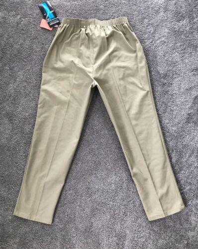 Khaki Nwt di signore forma Taglia a Mustang 360 Cotton Pantaloni Piccola 20 Mus wvxYnW