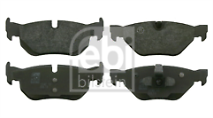 125 Petrol /& 118d 120d 123d Diesel 04-14 Rear Brake Pads BMW 1 Series 120