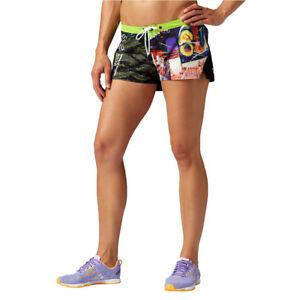 Pedagogía periódico Es  Reebok Crossfit Pantalones Cortos para Mujer de Entrenamiento Táctico Yoga  Correr Fitness | eBay