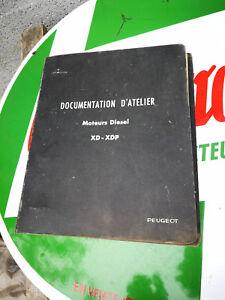 Capable Documentation D'atelier Peugeot Moteur Xd Xdp Toujours Acheter Bien