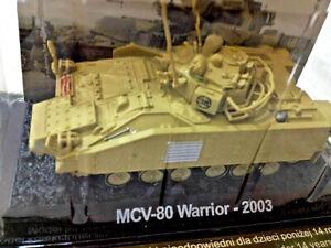 Carro-Armato-MCV-80-Warrior-2003-Scala-1-72-Die-Cast-RunSun-Nuovo