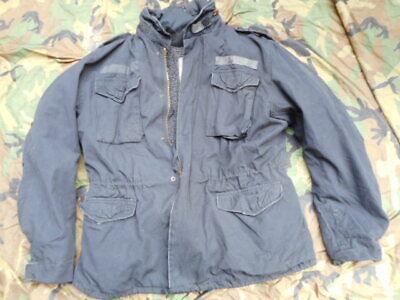 40d131ace S&T 75 SURPLUS TEX US ARMY M65 M 65 FIELD COAT combat JACKET & liner BLACK  large | eBay