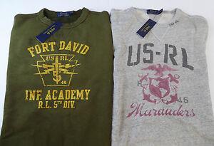 Polo-Ralph-Lauren-Crewneck-Fleece-Sweater-125-US-RL-Military-Marauder-Yosemite
