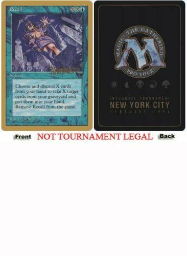 Shawn Hammer Regnier - 1996 World Championship NM Rare CARD ABUGames Recall